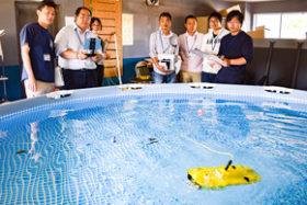 KDS釧路に道内初の水中ドローンスクール 苗穂自動車学園