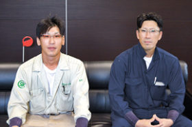 鈴木工業佐々木さん、増田さん 鳶競技大会で優勝と準優勝