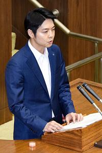 新時代創造へ 鈴木知事就任後初の定例道議会(1)