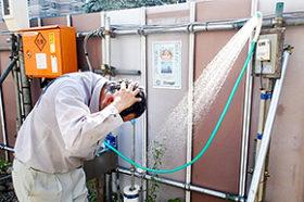ソーラーシステムハウスや冷シャン 熱中症対策に各社工夫