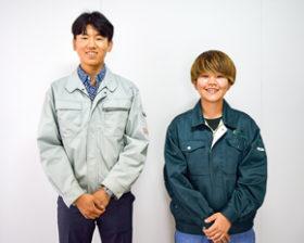 コクサクの小石川さんと菊田さんがブロック建築3級に合格