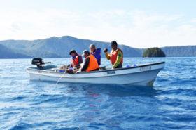 摩周湖の水質を守れ 連絡協議会が調査継続