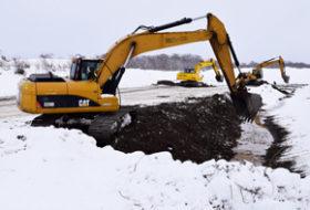 18年度の道内河川砂利採取量 2倍強の29万㎥