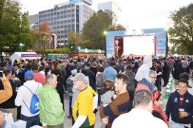 ラグビーW杯開幕 札幌市が大通公園にイベントスペース