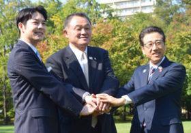 山下JOC会長が来札 30年冬季五輪招致へ機運醸成期待