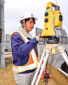 釧根で輝く女性たち(3) 小針土建 大坪彩美さん