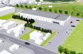 主体RC、上部はS造 北見市のカーリングホール概要
