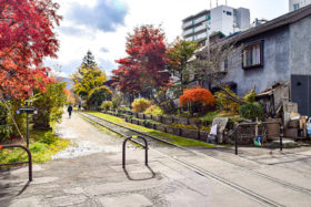 「旧手宮線の散策路整備」などを小樽市が都市景観賞に選定