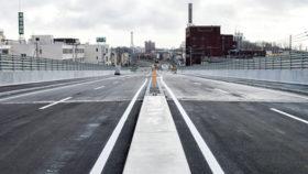 地域活性化に期待 苫小牧市の緑こ線橋が30日に供用開始