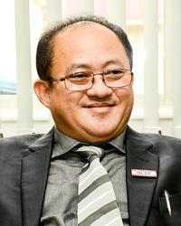 深掘り ミャンマー建設事業者連盟 テッ・リン副会長