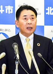 北斗市長が八雲の道新幹線トンネル掘削土受け入れを承認