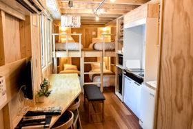 JRのトレーラーハウス型無人宿泊施設 琴似で18日開業