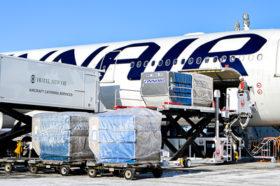 道産食品の販路開拓 欧州への航空貨物輸送実験始まる