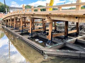 鳥取城跡の橋を特殊工法で復元 ものづくり日本大賞優秀賞