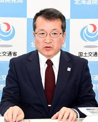 五輪マラソンに向け国道修繕 後藤開発局長が事業説明