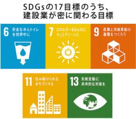 走り出したSDGs~建設業が取り組む意味(1)経営方針見直す機会に