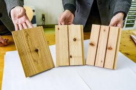 飫肥杉外装材などの新製品を提案 スズキトレーディング