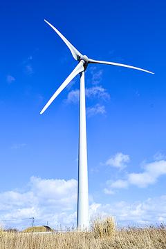 風来望4号機が完成 風力発電で全国初のリプレース