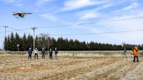 垂直離着陸型ドローンの精度検証 FRSコーポレーション