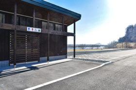 千代田堰堤展望公園 4月末にも供用開始