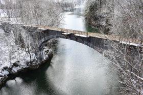 連休明けから旧士幌線・第三音更川橋梁を補修 上士幌町