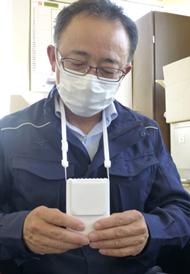 マスクしてても涼しく 各社が熱中症対策品など提案