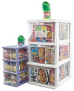 現場休憩所に置き菓子 谷保製菓が提案