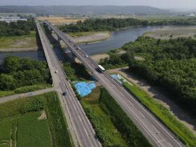 川西芽室音更線の中島橋 5日全面開通