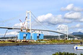 白鳥大橋が国交省インフラツーリズムのモデル地区に