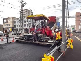 広域輸送可能なアス混合物 開発局が舗装技術導入検討着手