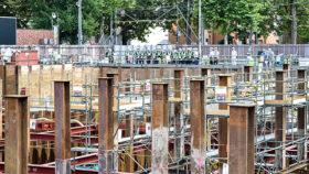 現場の風景 旭川市総合庁舎建て替えと工高生