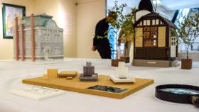 心に残る空間描き出す 旭川市で建物アート展