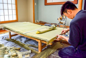 畳の魅力、再発見して 旭川市内の大畳会が奉仕作業