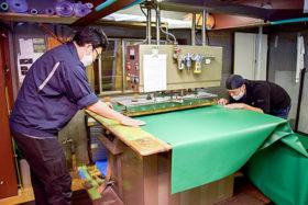 会社探訪記 丸富テント工業 顧客に寄り添う技術力