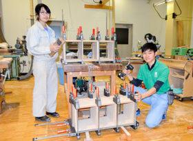 技能五輪全国大会目前 旭川高等技専生が最後の訓練