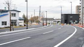 アクセス向上やにぎわい創出期待 恵庭駅西口相生通が開通