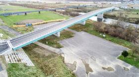 道道八雲今金線の今金橋 12月15日に開通