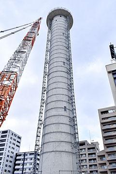 札幌管区気象台の高層気象観測塔解体へ
