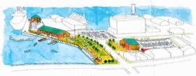 2カ所に観光商業施設配置 小樽港の第3号埠頭再開発