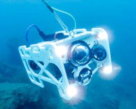 潜水困難でも効率良くデータ収集 アミューズが提案