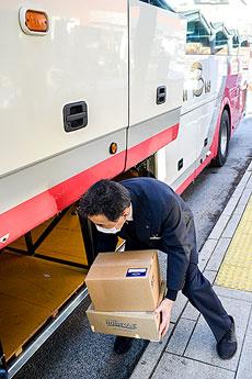 都市間高速バスで貨客混載 十勝MaaSの実証実験開始