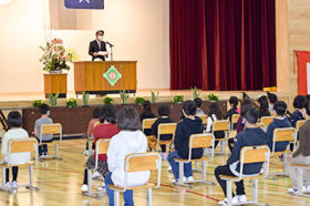 阿寒湖義務教育学校が誕生 釧路市内で初