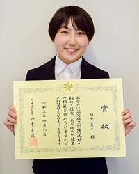 栄養学から塗装の道へ 伊藤塗工部工事部の坂本英未さん