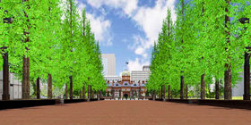 アカプラのバーチャル空間を公開 大日本印刷