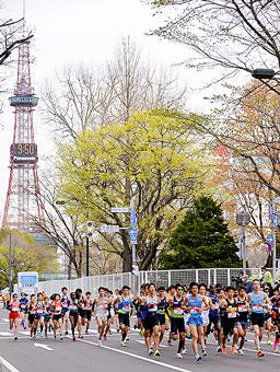 札幌市内で東京五輪マラソンのテストイベント開催