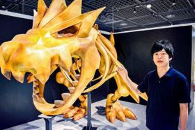 「観察」して「比較」 三笠市で「ポケモン化石博物館」