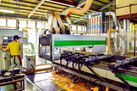 会社探訪記 岡田建具製作所 「若い力」で新たな風を