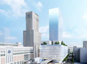 マスターアーキテクトに内藤広氏 札幌駅前の再開発ビル🔒