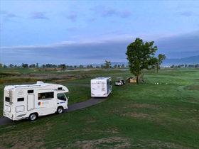 ゴルフ場でアウトドア宿泊 道内施設が客層拡大へ工夫