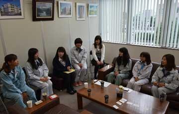 砂子組と一二三北路で働く女性技術者たち